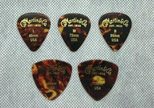 Martin Guitar picks 0.46 0.73 0.96 (12-pick 1pack)
