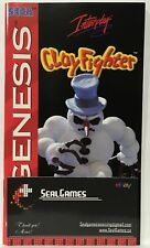 Clay Fighter (Sega Genesis) Instruction Manual ONLY **VERY GOOD** Authentic Oem