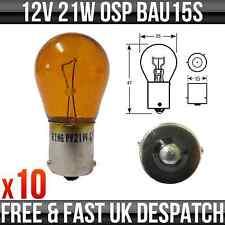 12V 21W OSP BAU15S INDICATORE LAMPADINA (COLOR AMBRA) - R581 CONFEZIONE DA 10