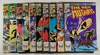 New Mutants 1-10 origin Karma 1st Cameo Demon Bear 1983 Marvel Comics Lot of 10