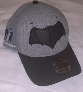 Dale Earnhardt Jr. New Era Justice League Batman 39THIRTY Flex Hat NWT M/L