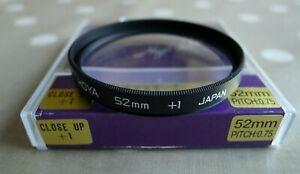 HOYA 52mm CLOSE UP  +1 FILTER
