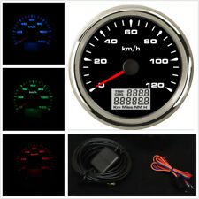 85mm GPS Speedometer Odometer LCD Digital MPH km/h Gauge For Motorcycle ATV Cars