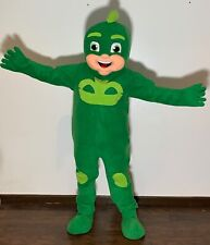 New PJ Masks Gekko Mascot Costume Suits Cosplay Party Adults Catboy Owlette Mask