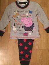 BNWT Boys Long Peppa Pig / George Pig Snuggle Christmas Pyjamas Ages 4-5 yrs