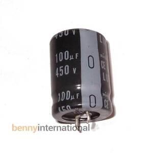 100uF 450V 85°C ELECTROLYTIC CAPACITOR Nichicon LU Series - AUS STOCK