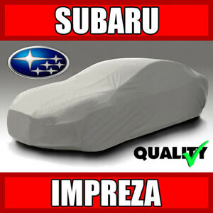 [SUBARU IMPREZA] CAR COVER ☑️ Weather ☑️ Waterproof ☑️ Full Warranty ✔CUSTOM✔FIT