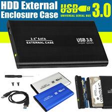 """2.5""""Hard Disk Case SATA USB 3.0 SSD Disk HDD Box External Hard Drive Enclosure"""