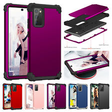 For Samsung Galaxy Note 20/Note 20 Ultra Hybrid Shockproof Hard Armor Case Cover