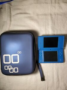 Nintendo DS XL Blue with case and 11 games plus car charger and wall plug.