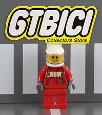 LEGO CITY  MINIFIGURA  `` PILOTO HELICOPTERO ´´ Ref 60086  100X100 ORIGINAL LEGO