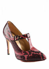 Women's Snakeskin Mary Jane Shoes