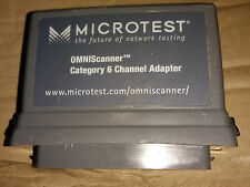 Microtest Omniscanner Category 6 Channel Adapter 2950 4012 02