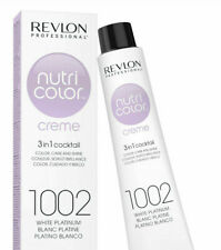 Revlon Professional Nutri Color Creme Hair Colour - 1002 White Platinum, 50 ml
