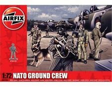 Airfix 1/72nd Scale Modern NATO Ground Crew Plastic Soldiers Set NEW!