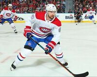 Tomas Tatar Montreal Canadiens UNSIGNED 8x10 Photo (B)