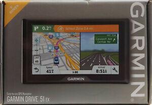 "NEW - Garmin Drive 51 EX 5"" Screen GPS Navigator - Free Shipping!!"