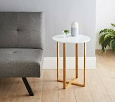 SB19 Contemporary Bjorn Round Side Table Add Some Style to Your Living Room New.