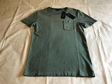 NEW Ralph Lauren Polo Men's S Cotton Indigo Blue Crewneck T-Shirt Tee Small NWT