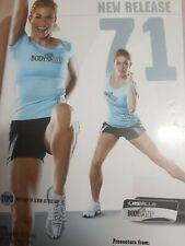 Les Mills Body Step 71 Dvd, Cd and notes