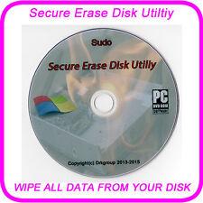 DISCO rigido elimina pulire formato cancellare la rimozione sicura dei dati su qualsiasi disco Boot DVD