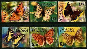 POLAND - 1977 'BUTTERFLIES' Set of 6 CTO SG 2503-2508 [B0793]