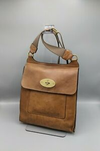 Mulberry Large Antony  Messenger in Oak Natural Leather