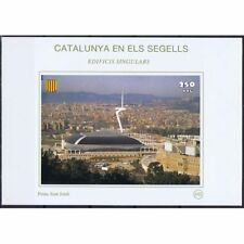 CATALONIA IN ELS SEGELLS CATALONIA ON STAMPS SHEET BLOCK 102 PALAU SANT JORDI