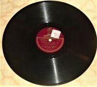 """10"""" - 78 RPM SHELLAC RECORD / FRANCISCO CANARO / ODEON 4973 / ARGENTINA"""