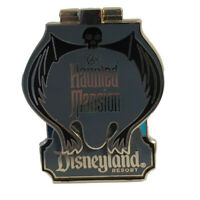 DLR - The Haunted Mansion Attraction - Mickey and Minnie Mouse Disney Pin 85387