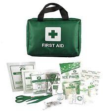90 pezzi Kit Pronto Soccorso Borsa con emergenza aperto, ICE PACK, fumo negli occhi, fasciature