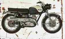 Yamaha YDS3C 1965 Aged Vintage Photo Print A4 Retro poster