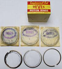 "Piston Ring Set Opel Rekord Manta Ascona 1.9 DEVES - made in Sweden .020"""