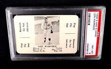 1936 S AND S BASEBALL GAME CARD LON WARNEKE PSA 8 NQ CHICAGO CUBS MLB GRADED