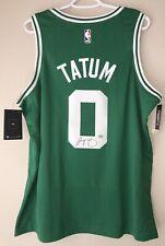 Jayson Tatum Autograph Boston Celtics Signed Nike Large Swingman Jersey FANATICS