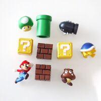 SUPER MARIO BROS lot de 10 Figurines  poupée MARIO  jouet décor