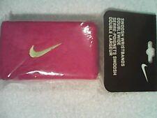 NEW Nike Swoosh Wristbands Tennis Federer Rafa Nadal Tennis Fireberry / Green