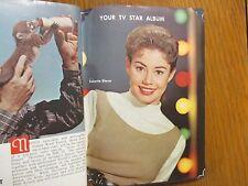 1963 Wash. Evening Star TV Mag(ROBERTA  SHORE/GAIL PATRICK JACKSON/JULIE LONDON)