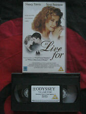Odyssey. TO LIVE FOR VHS VIDEO. EAN: 5018011010470. Cert.PG. Nancy Travis.