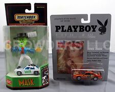 Playboy Brooke Berry Playmate of the Month & Matchbox Collectible the Mask Cars