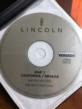 FORD LINCOLN OEM NAVIGATION DISC CD 2L7T-18C912-AA . California & Nevada, Map 1