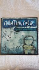 Counting Crows Autographed Somewhere Under Wonderland LP Album ( Adam Duritz )