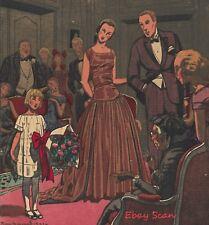 Gazette du Bon Ton Pochoir ~ La Sainte-Claire ~ 1922 Art Deco Print