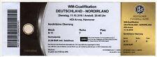 Ticket Germany - Northern Ireland 11.10.2016