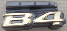 "SUBARU LEGACY B4 ORIGINAL ""B4"" FRONT GOLD EMBLEM J1017AE201 BOXER EJ20  DIRECT"