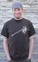 Vintage Stingray Muscle Bike Fro Chopper T Shirt Custom Schwinn Cruiser Bicycle