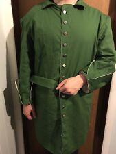Mens 18th Century Rev War Outlander Williamsburg Colonial Great Coat