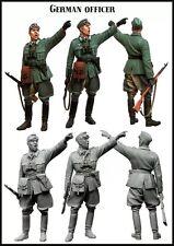 1/35 RESIN MODEL KIT FIGURE WW2 OFFICIER ALLEMAND (1 TOP qualité Figure)