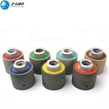 "2"" Diamond Polishing Resin Drum Zero Tolerance Wet Polishing Wheels Granite Tool"