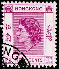 Sg185, 50c reddish purple, VERY FINE used, CDS.